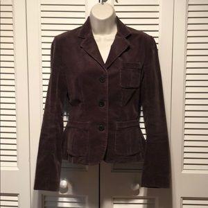 Ralph Lauren Sport Brown Corduroy Jacket Size 2